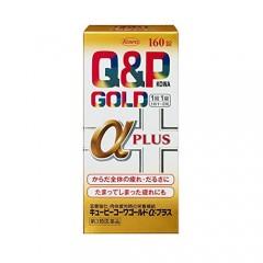 Q&P 큐앤피골드 알파플러스 160정