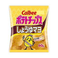 가루비 포테이토칩 쇼유마요 60g