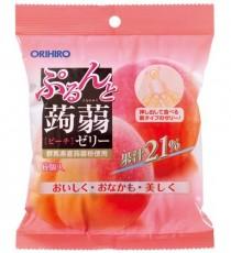 [오리히로] 곤약젤리 복숭아맛 6개입
