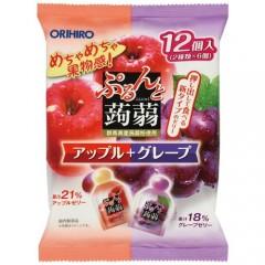 [오리히로] 곤약 젤리 사과+포도맛 12개입