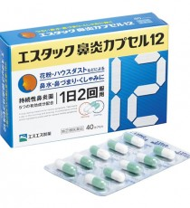 에스탁크 비염 캡슐 12