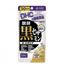 DHC 발효 흑 세사민+ 스테미너 20일분 120정
