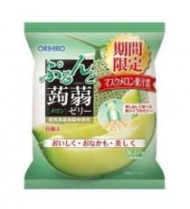 [오리히로] 곤약젤리 메론맛 6개입 (기간한정상품)