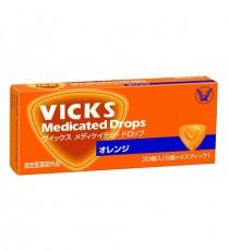 [다이쇼제약] VICKS 빅스 목캔디 20개입 (오렌지맛)