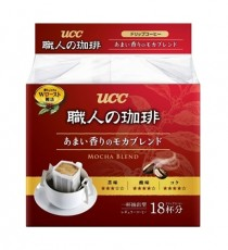 UCC장인의 커피 드립 18개입 (모카 브렌드 맛)