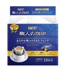 UCC장인의 커피 드립 18개입 (부드러운 마일드 브렌드 맛)