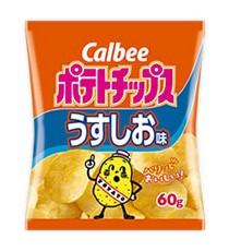 가루비 포테이토칩 우스시오맛 60g