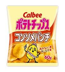 가루비 포테이토칩 콘소메맛 60g