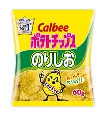 가루비 포테이토칩 노리시오맛 60g