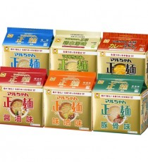 [마루짱] 세멘 5봉지팩 6종(택1) 간장맛, 된장맛, 소금맛, 카레맛, 닭계탕맛, 돈코츠맛