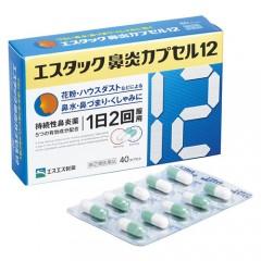 에스탁크 비염 캡슐 12 - 40캡슐