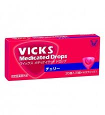 [다이쇼제약] VICKS 빅스 목캔디 20개입 (체리맛)
