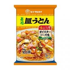 나가사키 사라(쟁반) 우동 (우스터소스맛)