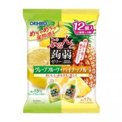 [오리히로] 곤약젤리 자몽+파인애플맛 12개입