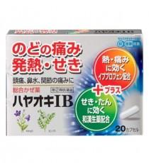 하야오키IB 20캡슐_해열진통(이브프로펜함유)종합감기약