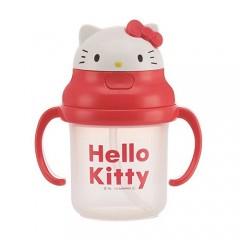 [스캐터] 산리오 헬로 키티 양손 원터치 빨대컵