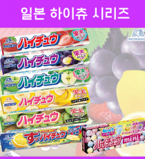 일본 하이츄 시리즈 12개입 5종