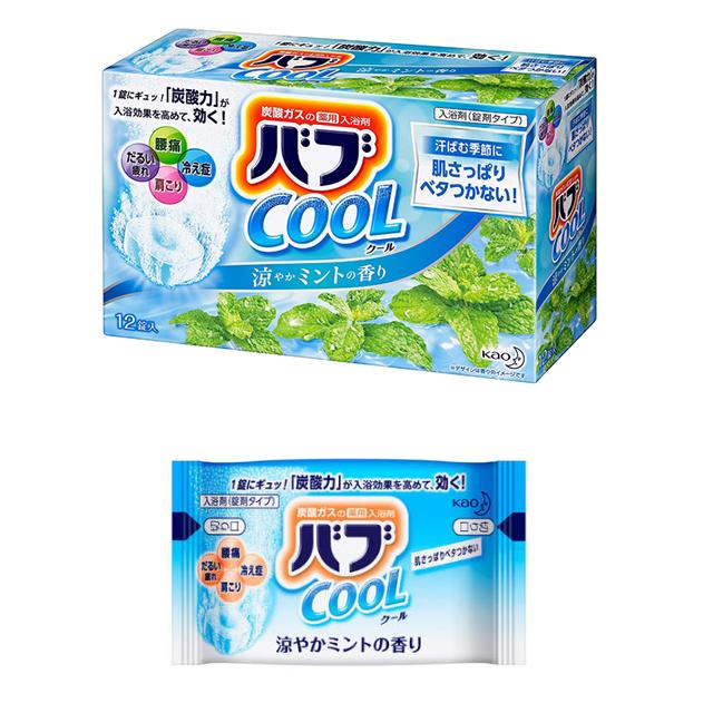 카오 바브 입욕제 12개입 6종 / 일본 바브 입욕제