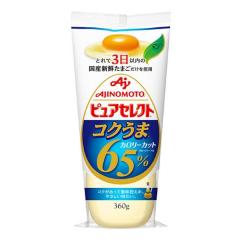 아지노모토 퓨어셀렉트 깊고 맛있는 65%칼로리컷트 마요네즈 360g