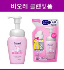 비오레 메이크업 거품 세안제 본품, 리필