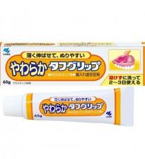 [대용량] 부드러운 타후그립프(부드러운타입 핑크색) 65g _ 틀니안정제(접착)