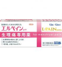 에루페인 코와 12정 _ 생리통 전용 진통제