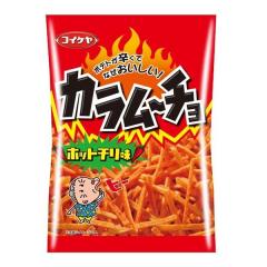 카라무쵸 스틱 (핫칠리맛)_포테토가 매운데 맛있는!