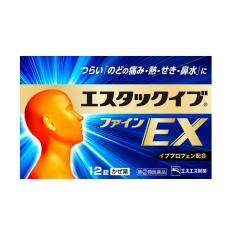 에스탁크 이브 화인EX 12정_ 기침감기, 목감기약