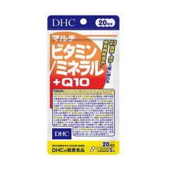 DHC 멀티비타민/미네랄+Q10 20일분 100정